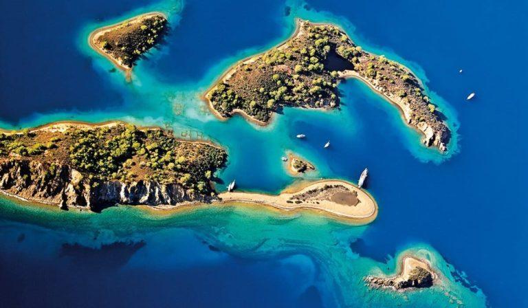 Острова в Фетхие
