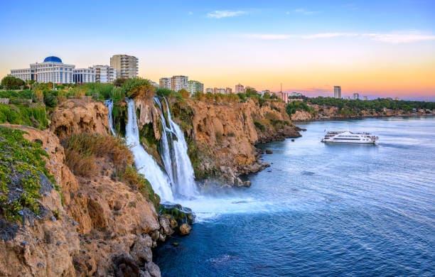 Экскурсии в Анталии Дюденский водопад