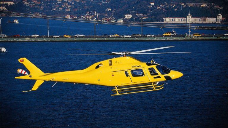 Экскурсия на вертолёте над Стамбулом