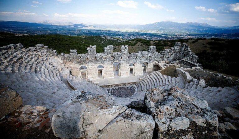 Античный город Кибира в Турции