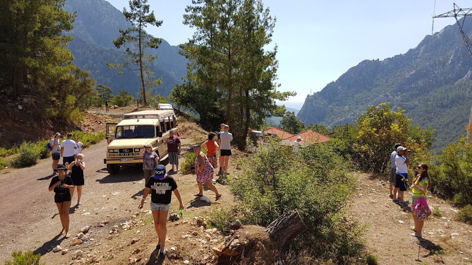 Экскурсия в Гейнюк каньон на джипах