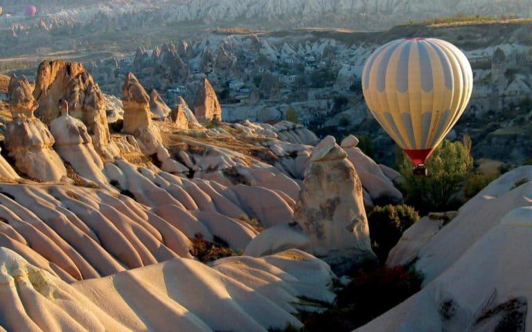 Полёт на шаре в Каппадокии