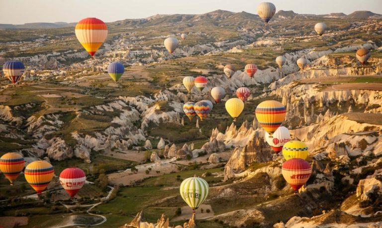 Полёт на воздушном шаре в Каппадокии
