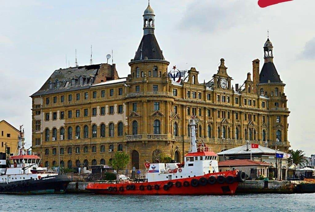 Вокзал Хайдарпаша в Стамбуле