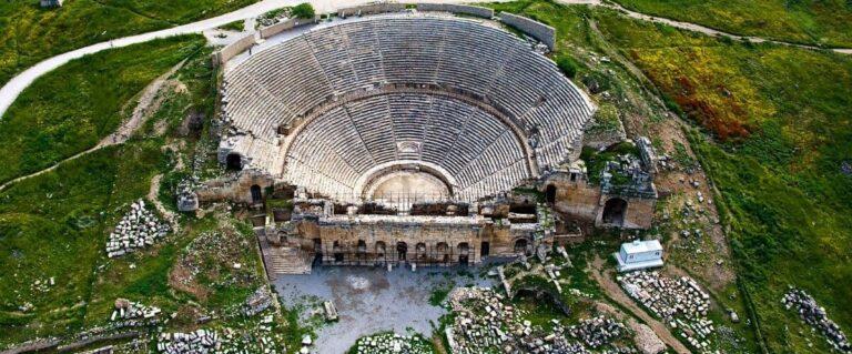 Старинный Иерополис в Памуккале