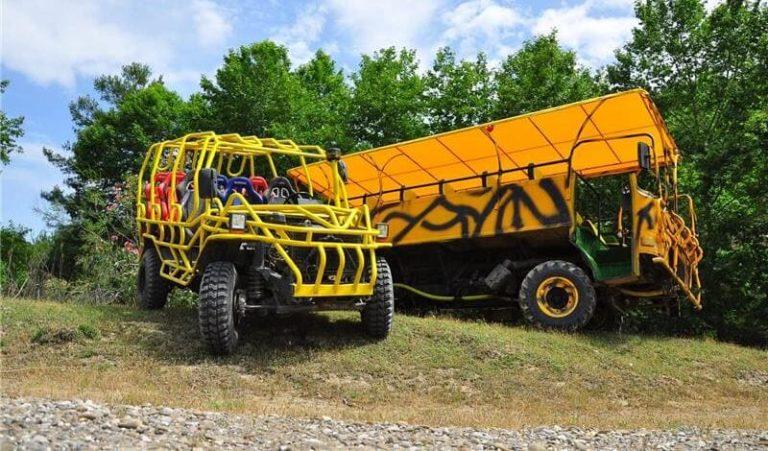 Monster jet комбо сафари тур