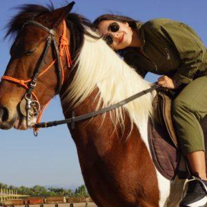 Прогулка на лошадях в Анталии