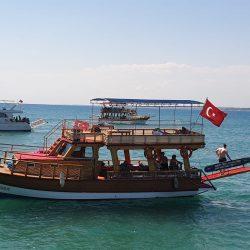 Деревянная яхта Турция