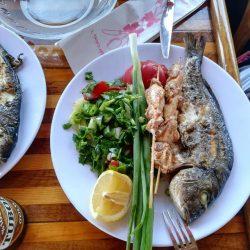 Обед на яхте в Алании