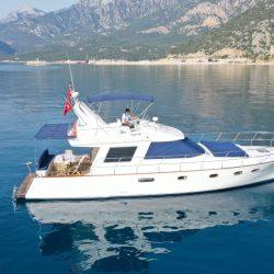 Частная яхта в Турции